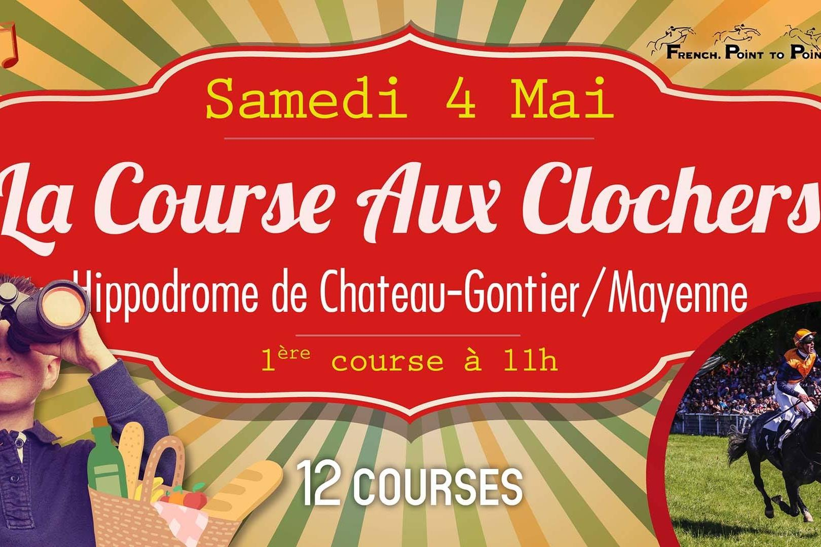 LE FRENCH POINT TO POINT À CHATEAU-GONTIER LE SAMEDI 4 MAI 2019 !
