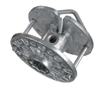 Tendeur rotatif en aluminium pour fils et cordes