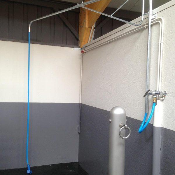 Espaces douches - Salles de soins